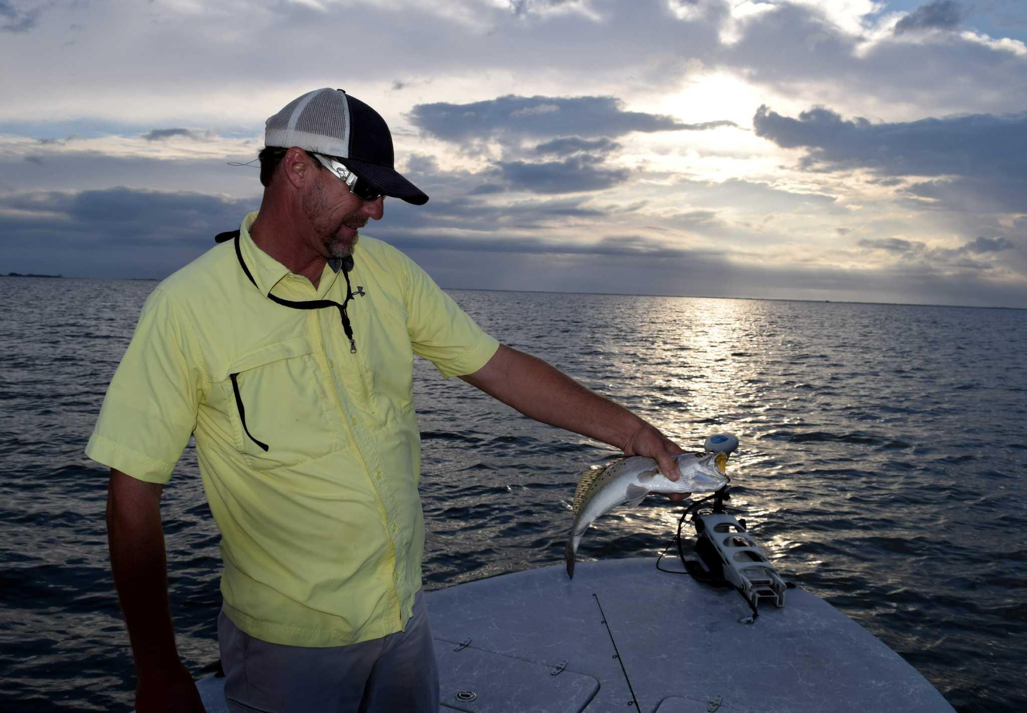 Elements don t deter baffin bay fishing guide san for Fishing near san antonio