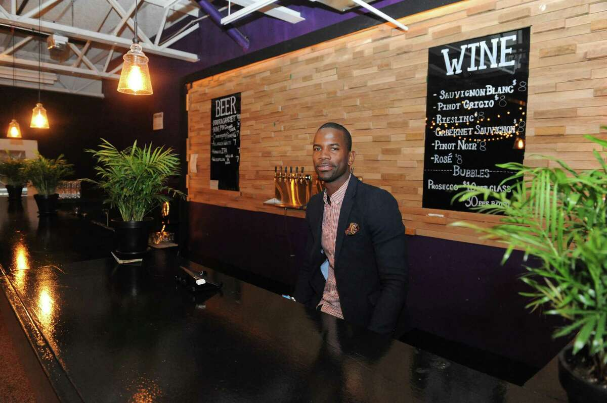 Cory Nelson had a dream of a large food court in Troy. He's realized it with Troy Kitchen. (Michael P. Farrell/Times Union)