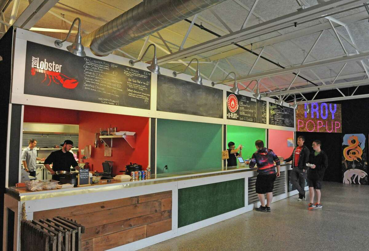 Troy Kitchen is a food court space with even bigger dreams. (Michael P. Farrell/Times Union)