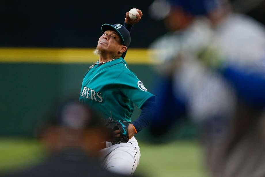 SEATTLE, WA - APRIL 29:  Starting pitcher Felix Hernandez #34 of the Seattle Mariners pitches against the Kansas City Royals in the first inning at Safeco Field on April 29, 2016 in Seattle, Washington.  (Photo by Otto Greule Jr/Getty Images) Photo: Getty Images