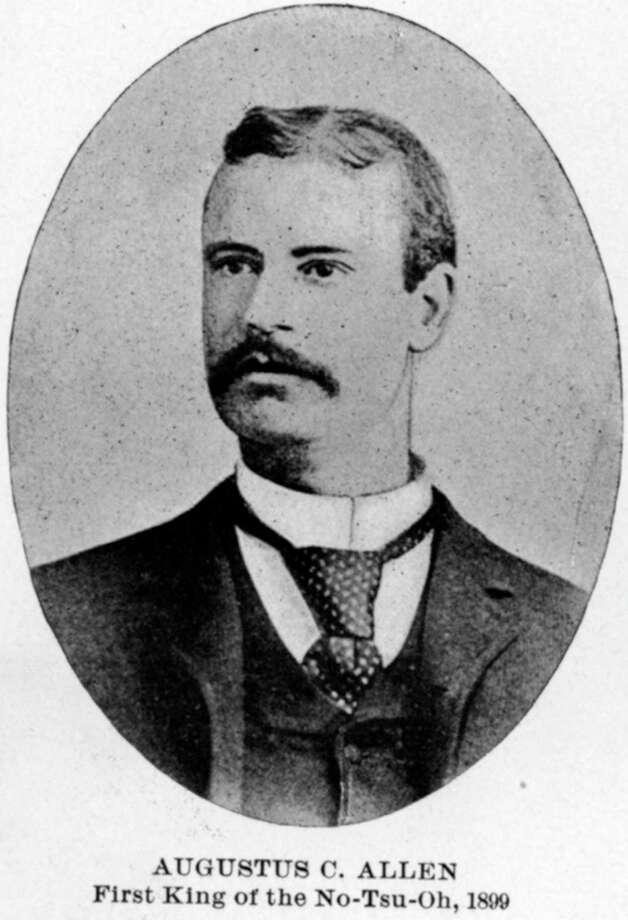 Augustus C. Allen, 1899. / handout book scan