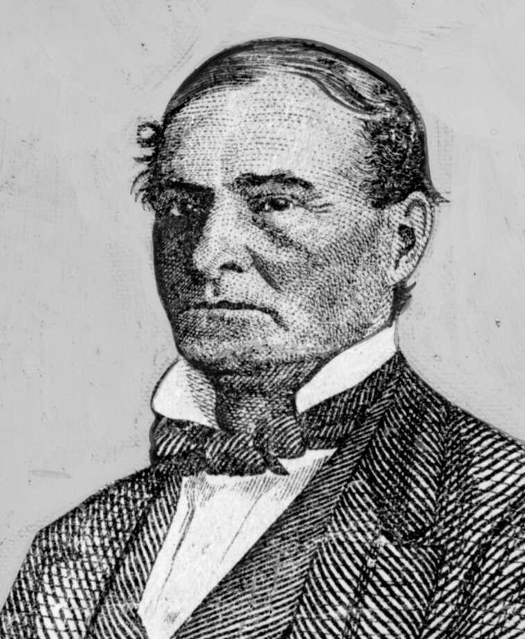 James S. Holman - first mayor of Houston / handout/Houston Post files