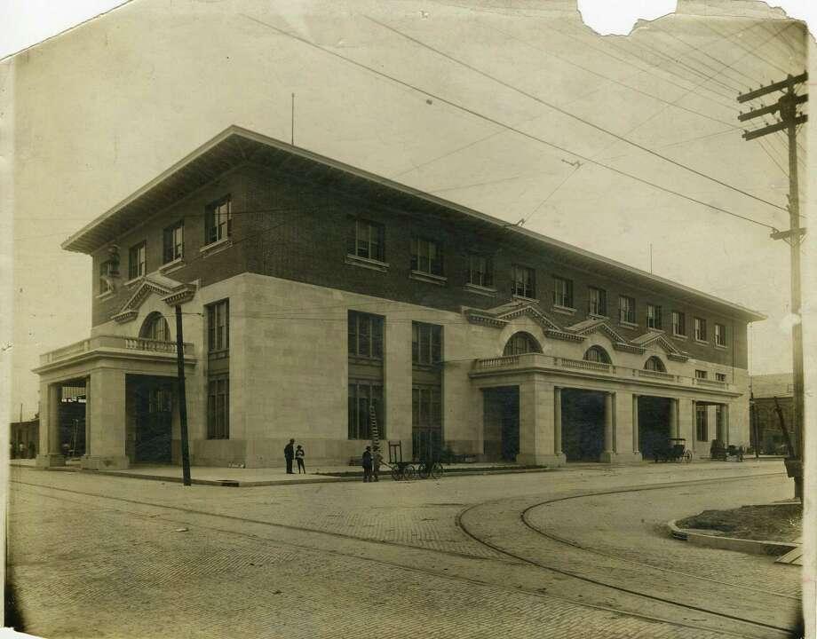 Houston's Union Station, ca. 1911. Photo: George Beach / handout / Houston Post files