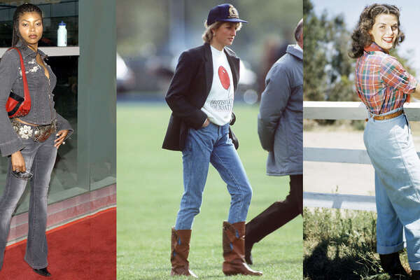 Denim itself may never go out of style, but some particular styles of jeans definitely do.