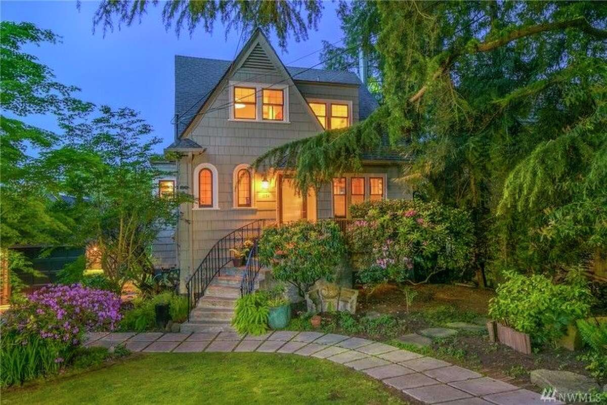 This Tudor is at 1534 Magnolia Way W. The full listing is here.
