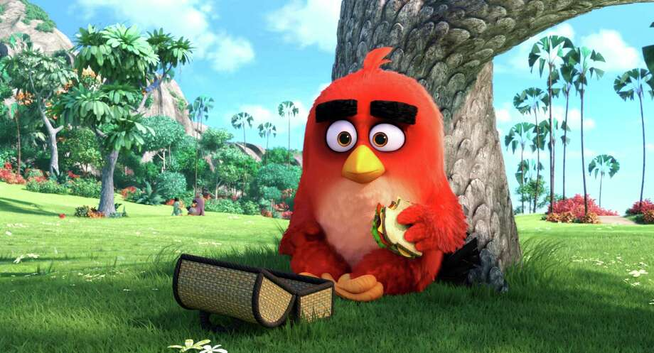 "This image released by Sony Pictures shows the character Red, voiced by Jason Sudeikis, in a scene from ""The Angry Birds Movie."" (Sony Pictures via AP) ORG XMIT: NYET932 Photo: Rovio Animation / Sony Pictures"