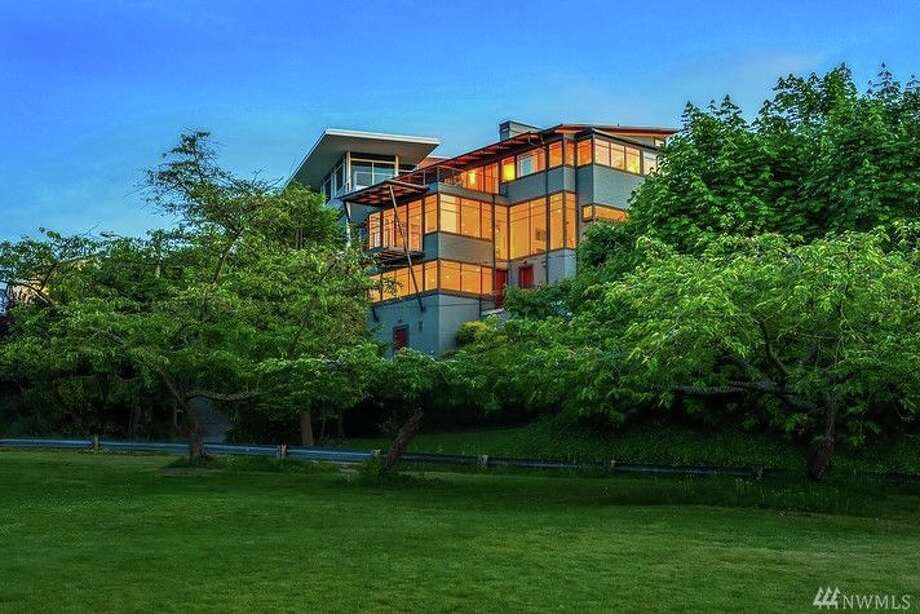 This home, at 1114 Sunset Ave. S.W., is listed for $4,088,888. The three-bedroom, four-bathroom home in West Seattle's North Admiral neighborhood features excellent views of downtown Seattle.The home's main living areas are bright, open spaces, and walls of glass allow for sweeping views. It was built in 2009.You can see the full listing here. Photo: Carmen Gayton, Windermere R.E.N.W. Eastlake