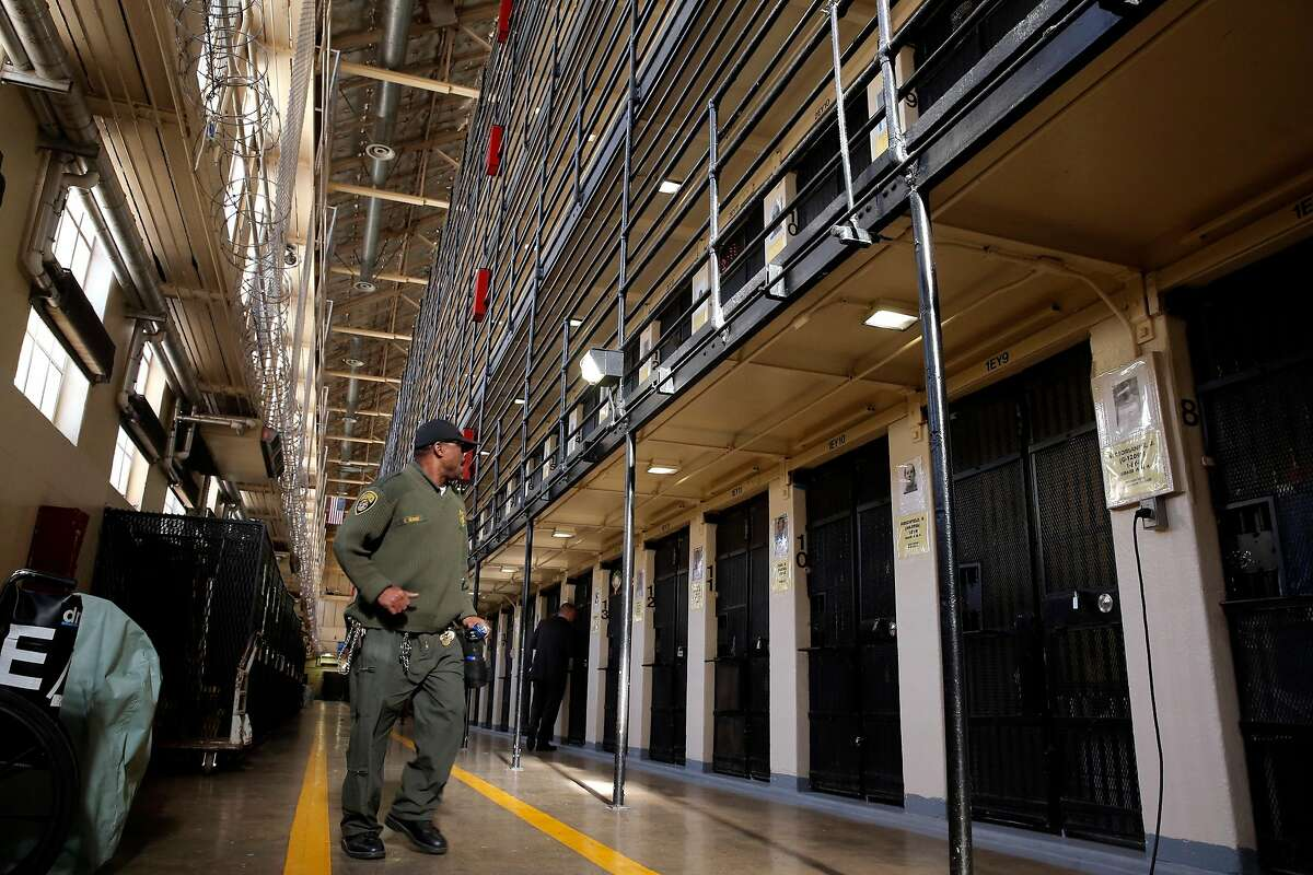 The cells of condemned prisoners in East Block on death row at San Quentin State Prison on Tuesday December 29, 2015, in San Quentin, Calif.
