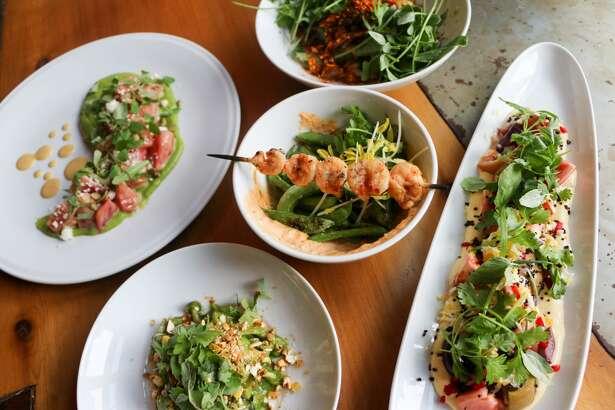 Some new menu items at Nao Latin Gastro Bar. Courtesy photo