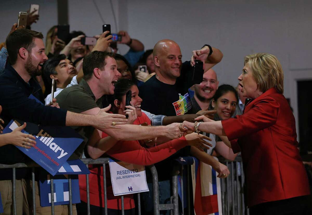 Hillary Clinton is expected to be the Democrats' presidential pick despite Bernie Sanders' efforts.