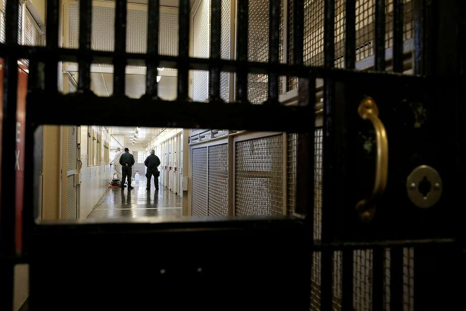 Prison guards at the Adjustment Center of death row at San Quentin State Prison on Tuesday December 29, 2015, in San Quentin, Calif. Photo: Michael Macor, The Chronicle