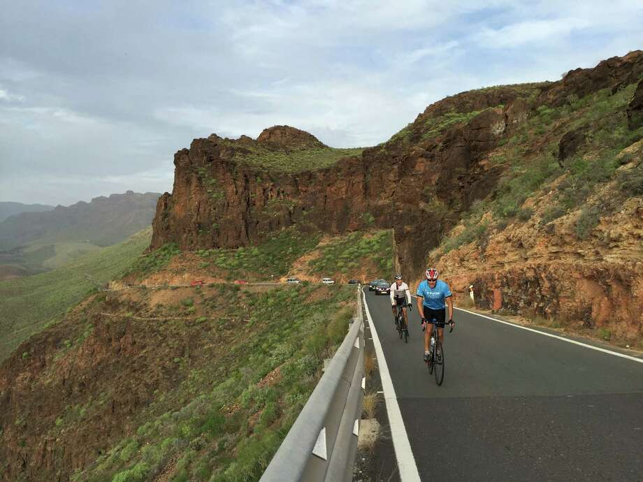 Packed with steep hills, Trek Travel's Canary Islands cycling trip is one of the most challenging offered by the Madison, Wis.-based outfitter. Photo: Lori Rackl /TNS / Chicago Tribune