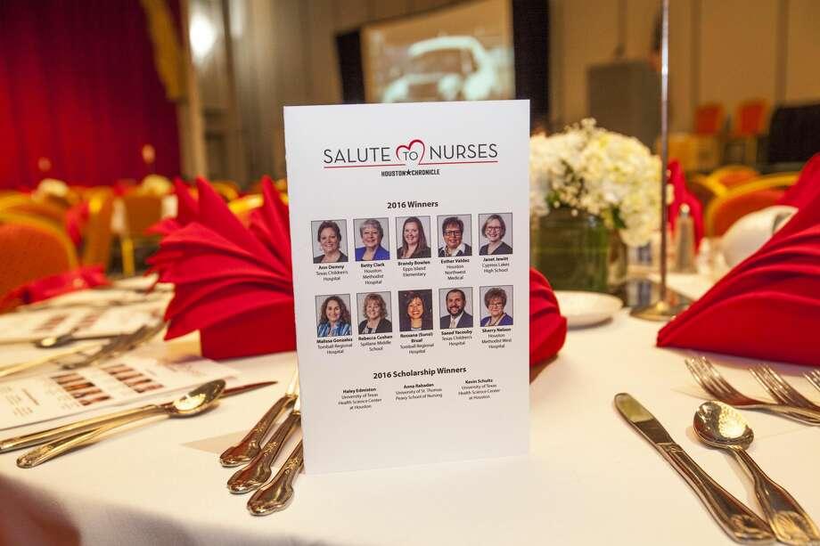 Salute To Nurses 2016 Sponsors Photo: Houston Chronicle