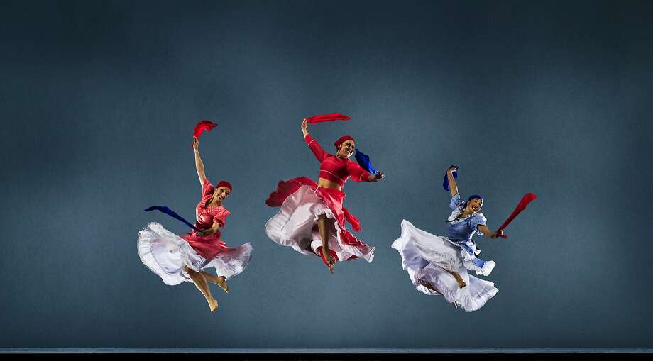 Brigitte Knight, Vanessa Sanchez and Sharon Lao of Alafia Dance Ensemble, featured as part of the 2016 San Francisco Ethnic Dance Festival, which runs June 3-19 at the Palace of Fine Arts Theatre.  Photo by RJ Muna Photo: RJ Muna