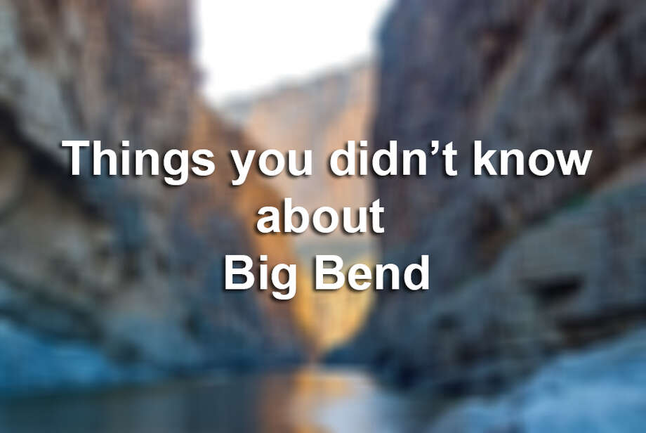 Click ahead to see what you don't know about Big Bend.