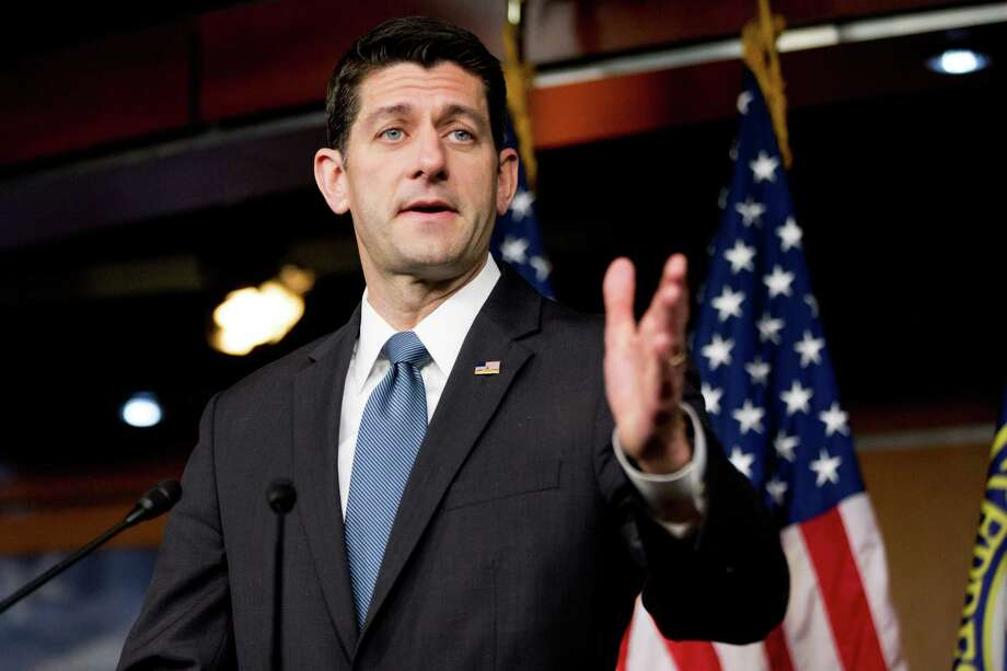 House Speaker Paul Ryan, R-Wis., said the bipartisan legislation to help rescue Puerto Rico from $70 billion in debt would avoid an eventual taxpayer bailout. Photo: Andrew Harnik, STF / Copyright 2016 The Associated Press. All rights reserved. This material may not be published, broadcast, rewritten or redistribu