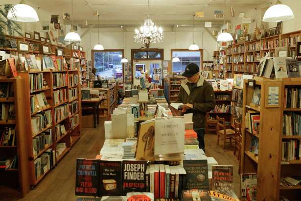 Point Reyes Books holds roughly 12,000 volumes.