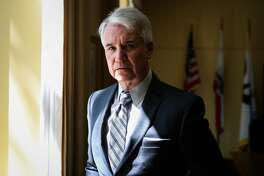 District Attorney George Gasc�n stands for a portrait in his office at the Hall of Justice, in San Francisco, California, on Wednesday, May 18, 2016.