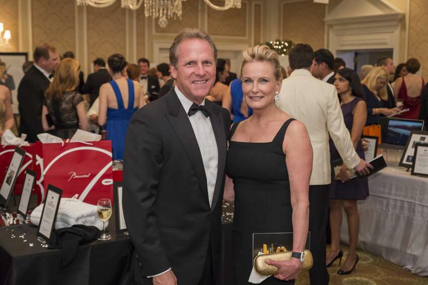 Tom Hipp and Linda Ruderman at the Bruce Museum Renaissance Ball on May 14, 2016. The black tie fundraiser supports education and science initiatives at the Bruce Museum. The event was co-chaired by Felicity Kostakis and Kamie Lightburn. Sachiko and Lawrence Goodman were honored.
