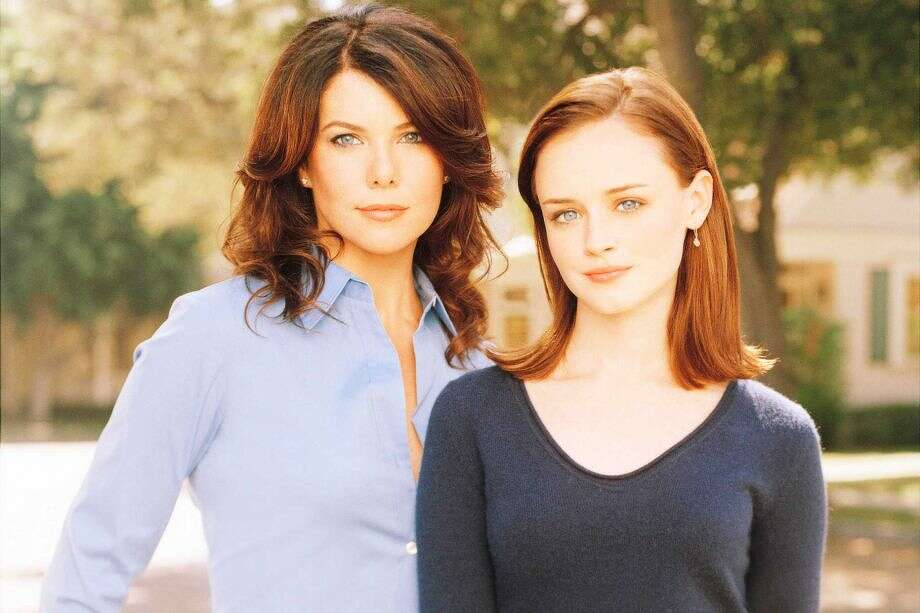 Role models: Lorelai and Rory.