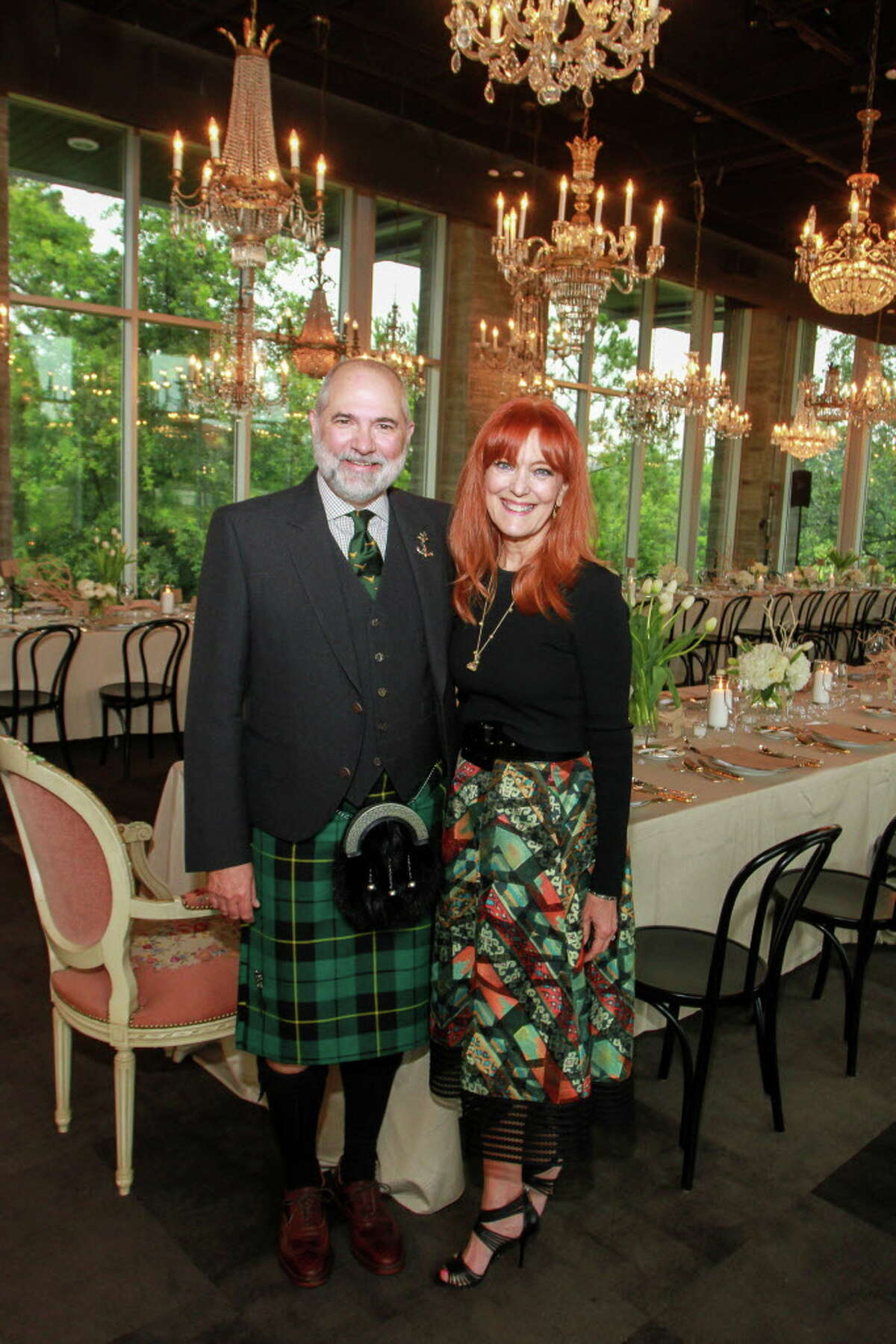 Chairs Bob and Gracie Cavnar at the Delicious Alchemy dinner. (For the Chronicle/Gary Fountain, May 19, 2016)