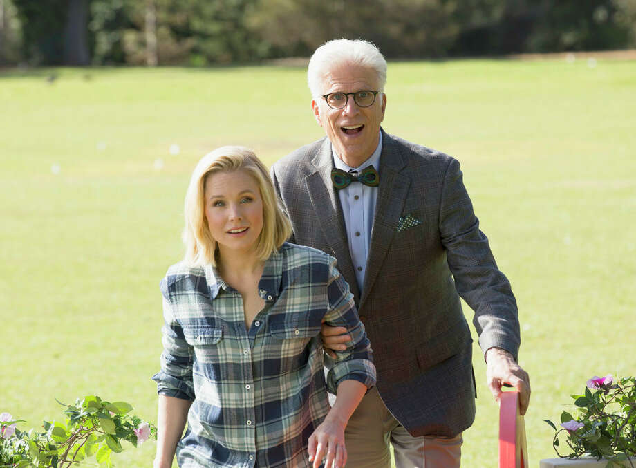 1. THE GOOD PLACE:The bottom line is, I'm going to be excited about whatever show Mike Schur, creator of Parks and Recreation, Brooklyn Nine-Nine and cousin of Dwight Schrute, creates. And this high-concept comedy about a woman who is mistakenly let into heaven, looks quirky,  sweet and smart --  and unlike anything else in a TV season awash with cop dramas and time travel series.   Watch the trailer here. Photo: NBC, Justin Lubin/NBC / 2016 NBCUniversal Media, LLC
