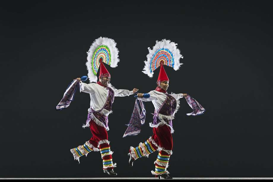 Ballet Folkl�rico Netzahualcoyotl performs at the 2016 S.F. Ethnic Dance Festival. Pictured are: Juan Carlos Morales Esqueda, Angela Espinoza Photo: R.J. Muna