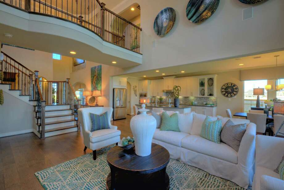 Taylor Morrison's Lexington model is one of seven new floor plans available at Notchwood at The Village at Creekside Park at The Woodlands. Prices start in the $400,000s.
