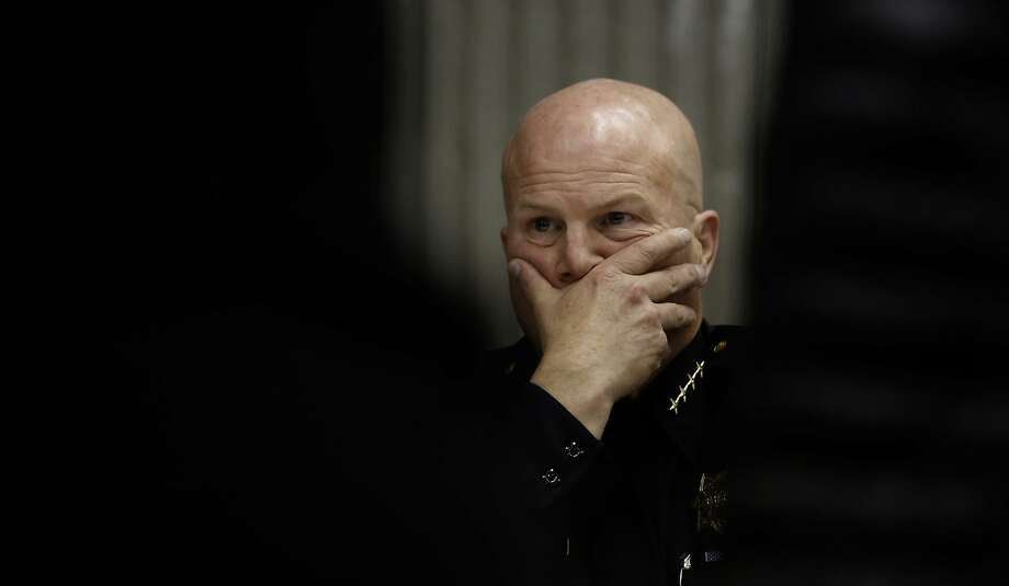 Former San Francisco Police Chief Greg Suhr in December 2015. Photo: Michael Macor, The Chronicle
