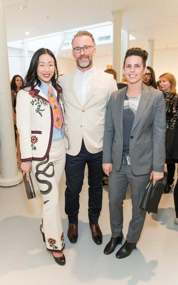 Sonia Yu, Zack Lara, Jessica Silverman Photo: Drew Altizer