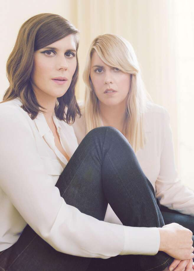 Portrait of Laura and Kate Mulleavy, the sister fashion designers behind the acclaimed label Rodarte. Photo: Autumn De Wilde