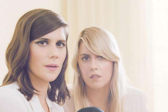 Portrait of Laura and Kate Mulleavy, the sister fashion designers behind the acclaimed label Rodarte.