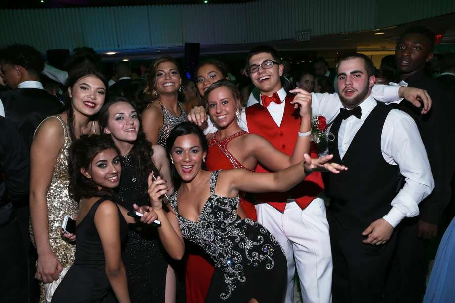 Shelton High School seniors celebrated their senior prom night at the Matrix Conference Center in Danbury on May 14, 2016. Were you SEEN? Photo: Aidan Woloszyn
