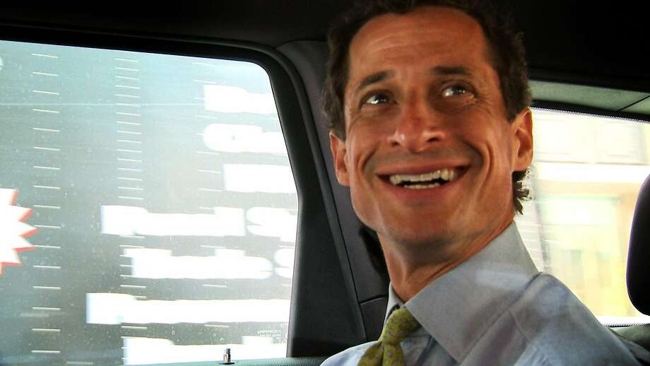 "This image released by IFC Films shows Anthony Weiner in a scene from the documentary, ""Weiner."" (IFC Films via AP) Photo: Associated Press"