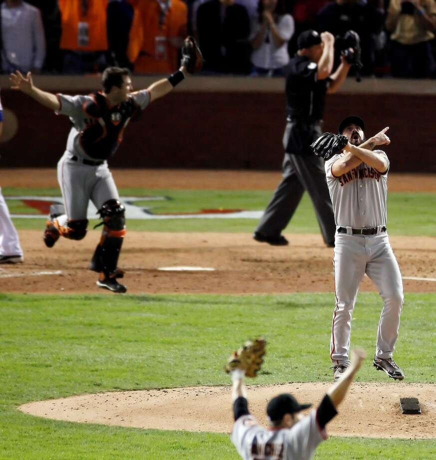 The days of the stadium where Brian Wilson recorded the last out for the Giants' first S.F. title are numbered. Photo: Carlos Avila Gonzalez, San Francisco Chronicle