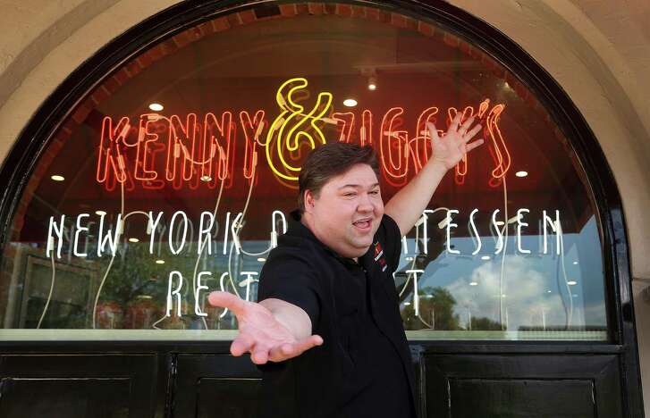 """To hear that it feels exactly the same is the biggest compliment I can receive,"" says owner Ziggy Gruber, in front of the new Kenny & Ziggy's New York Delicatessen."
