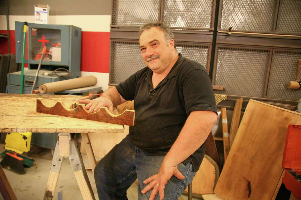 Mark DeVito, of Stamford, started making furniture alongside his father, who opened his own business, Raphael's Furniture Restoration, in 1959.