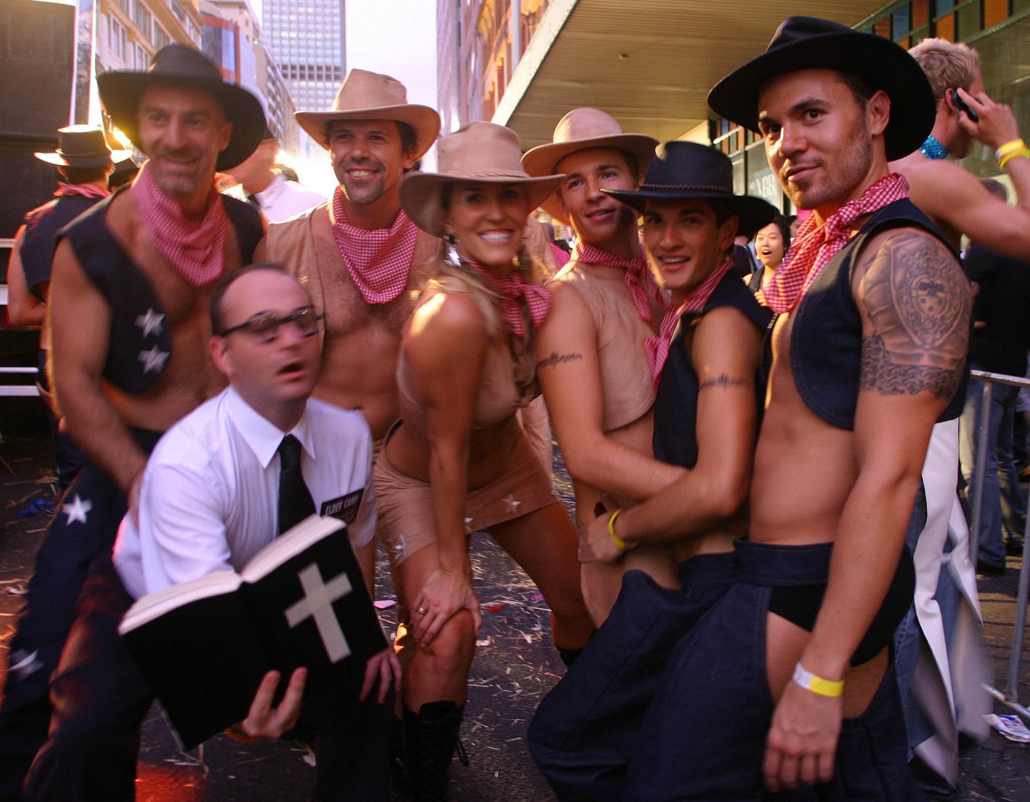 Gay orgy video porn