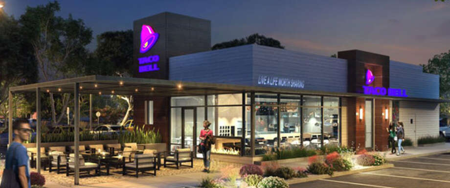 Taco bell releases new interior designs for some stores