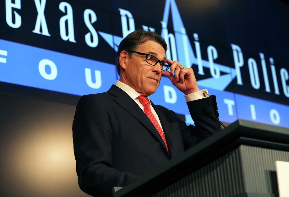 Former Texas governor Rick Perry has changed his tune on Donald Trump. Have Perry's ambitions clouded his judgment, or is he merely willing to say whatever it takes to get ahead? Photo: TOM REEL /SAN ANTONIO EXPRESS-NEWS / 2016 SAN ANTONIO EXPRESS-NEWS