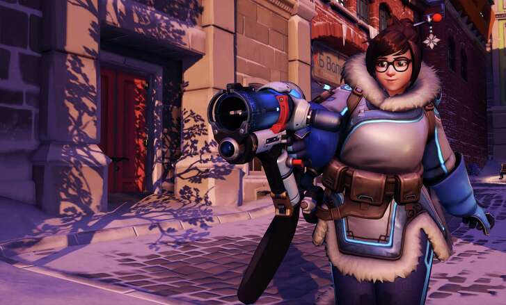 "This image released by Blizzard Entertainment shows Mei, a character from the ""Overwatch,"" video game. For years, the video game industry has been criticized for not depicting a more diverse array of characters."