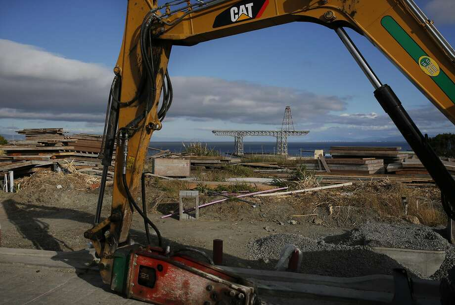A ballot initiative would exempt the Hunters Point Shipyard project from an office space cap. Photo: Leah Millis, The Chronicle