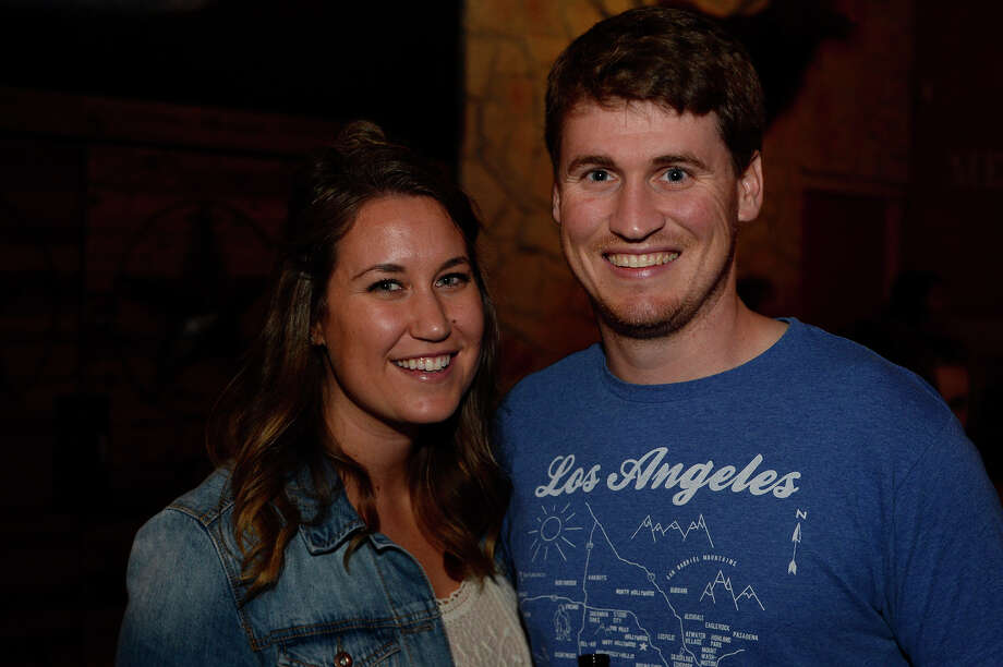 Chelsea and Troy Emrey at the Shinyribs concert at Jerry Nelson's Hill Country Backyard Music Hall on Friday night.  Photo taken Friday 5/20/16 Ryan Pelham/The Enterprise Photo: Ryan Pelham / ©2016 The Beaumont Enterprise/Ryan Pelham