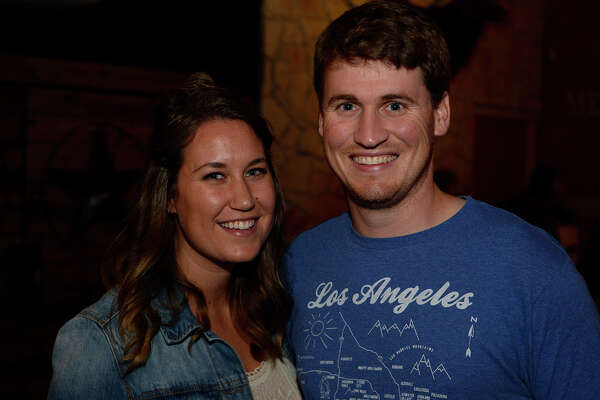 Chelsea and Troy Emrey at the Shinyribs concert at Jerry Nelson's Hill Country Backyard Music Hall on Friday night.  Photo taken Friday 5/20/16 Ryan Pelham/The Enterprise