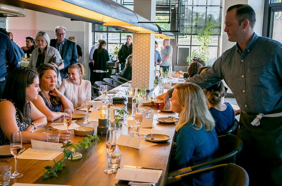 People have dinner at Basalt in Napa. Photo: John Storey, Special To The Chronicle