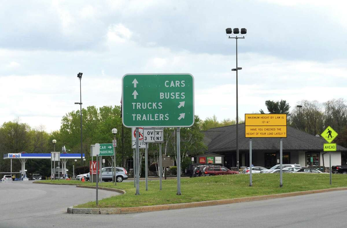 The New York State Thruway's Guilderland Service Area, 2016. (Times Union)