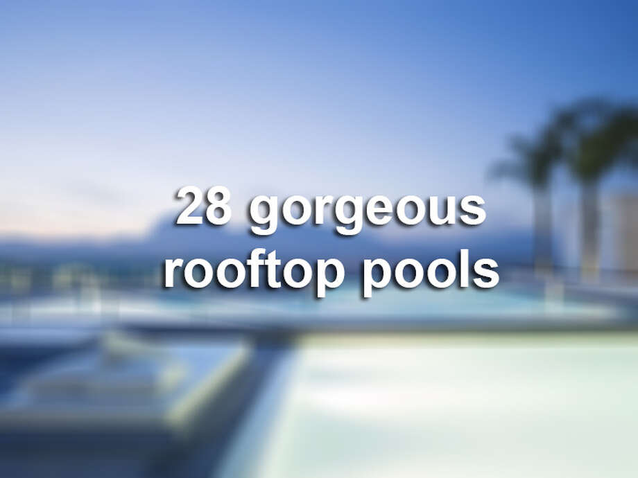 Click through the slideshow to see a collection of photos of some of the most beautiful rooftop pools across the globe.