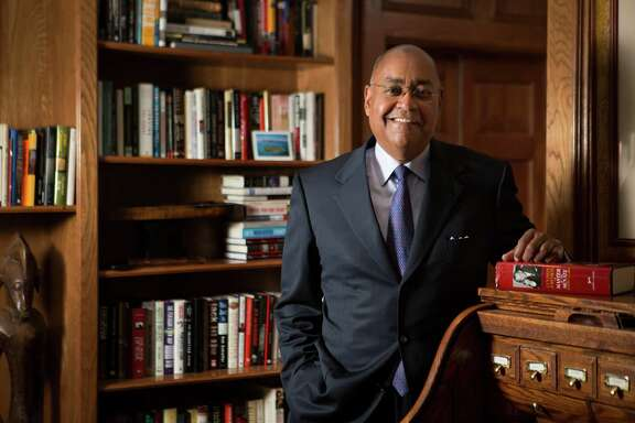 Senator Rodney Ellis is the state senator for Texas' 13th state senate district. Senator Ellis stands in his home office for a portrait, Friday, March 25, 2016, in Houston. ( Marie D. De Jesus / Houston Chronicle )