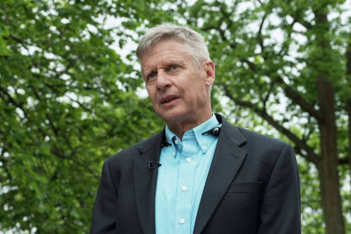 Gary Johnson Libertarian presidential nominee