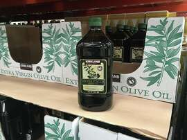 Olive oil at Costco.